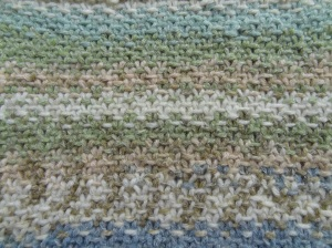 Knitted Woven Stitch