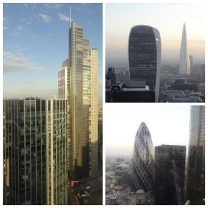 Views from Tower 42