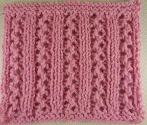 Double Lace Rib Stitch