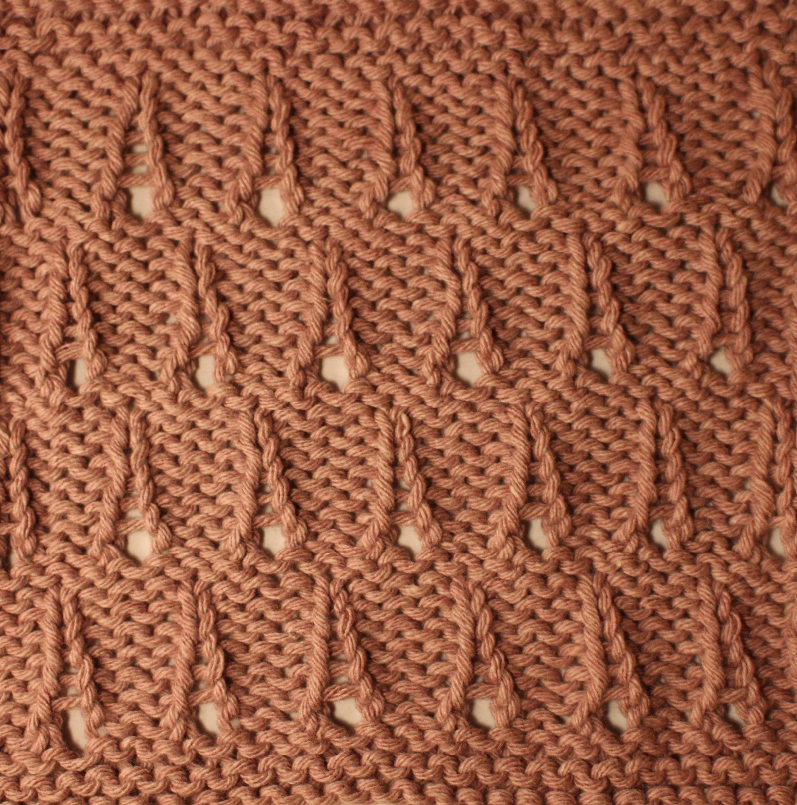 Sunday Stitches   Trellis Lace and Eiffel Tower Stitch