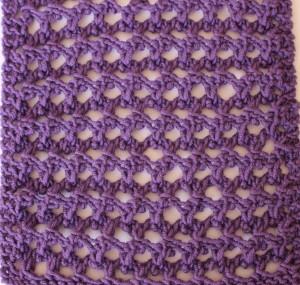 Cane Stitch Blocked