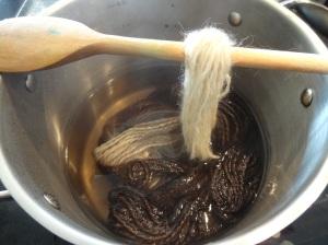 Dip dyeing