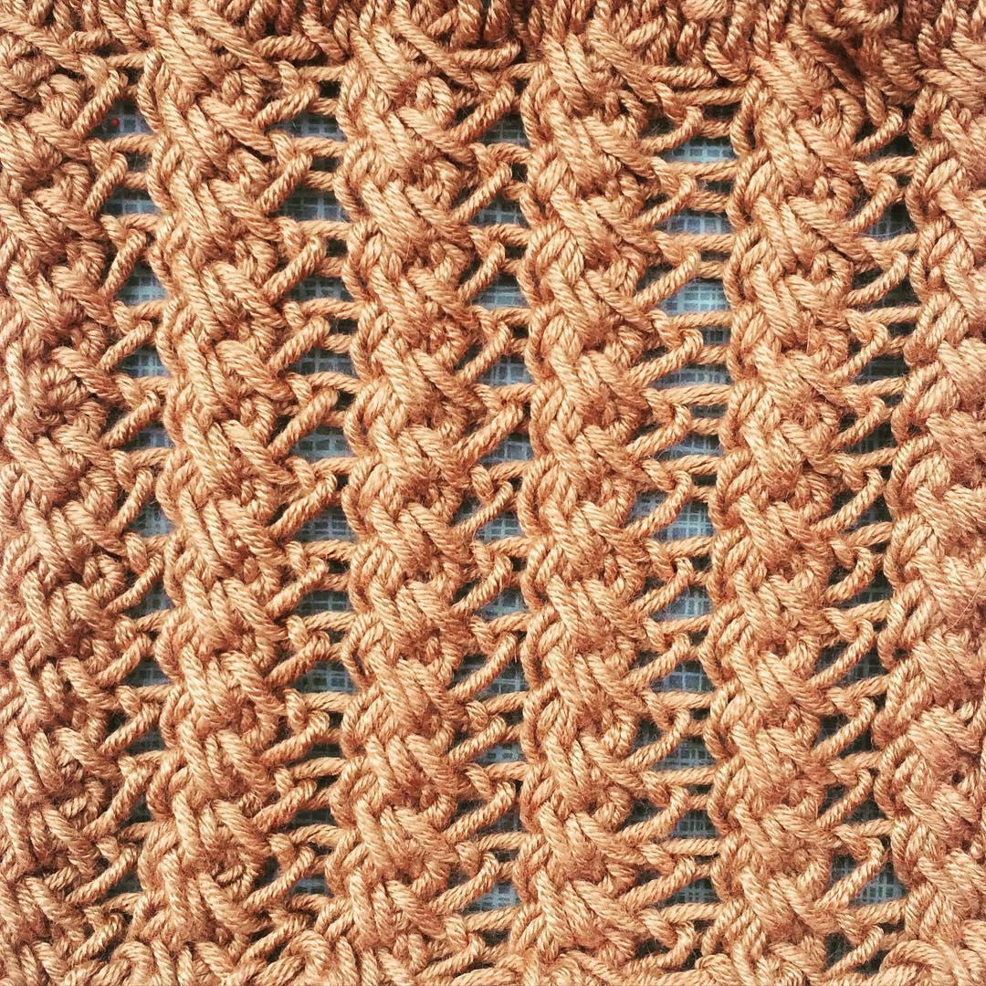 Pillar and Web Stitch