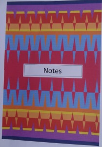 Resolved piece notebook
