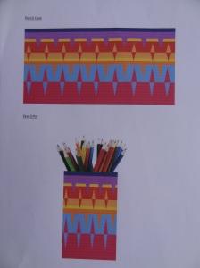 Resolved piece stationery items