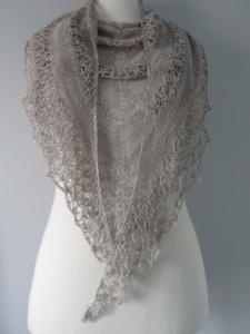 Shawl as scarf
