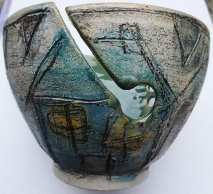 Wendy Fowler yarn bowl