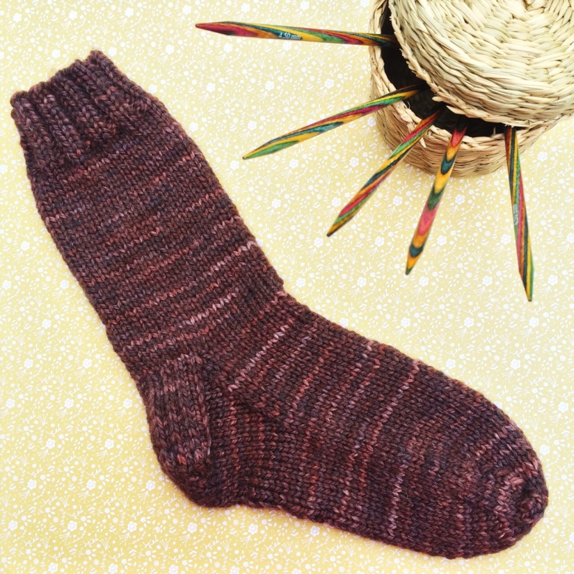 Aran sock