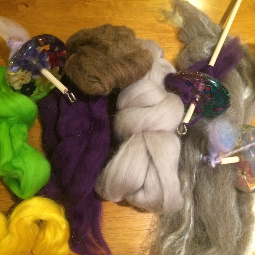 Spindles and fibre