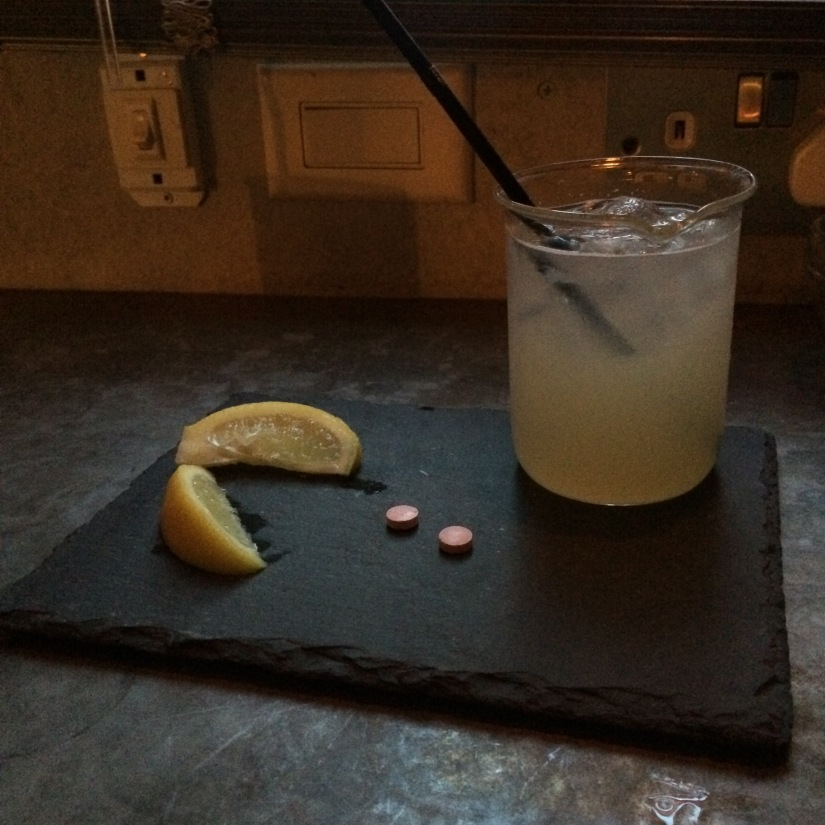 Berry pill cocktail